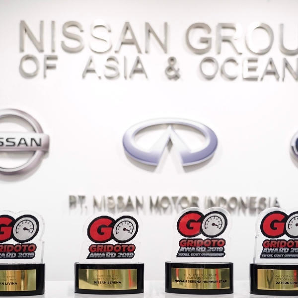 Nissan Motor Indonesia Sabet Empat Penghargaan dari GridOto Award