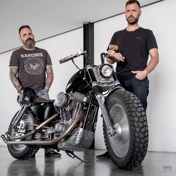 Harley-Davidson Sportster Jadi Ramping di Tangan Builder Dubai
