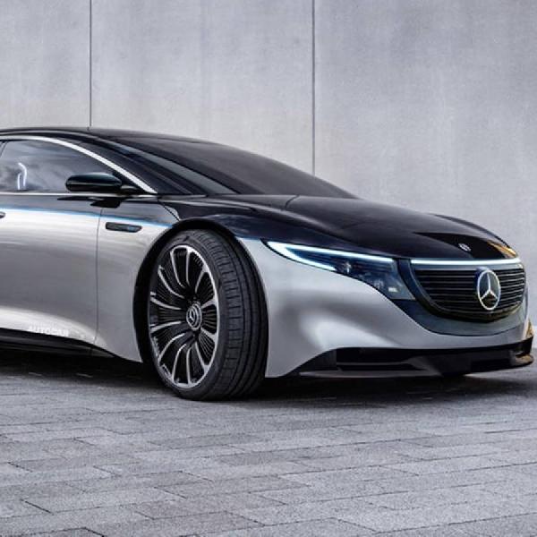 Mercedes-Benz Konsepkan Sedan Listrik AMG
