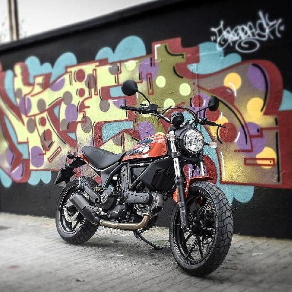 Ducati Scrambler Sixty2 Tebar Pesona di PRJ 2017