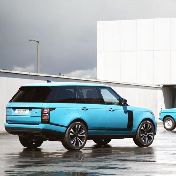 """Rayakan Hari Jadi SUV Ke-50, Range Rover Luncurkan Edisi Khusus """"Fifty"""""""