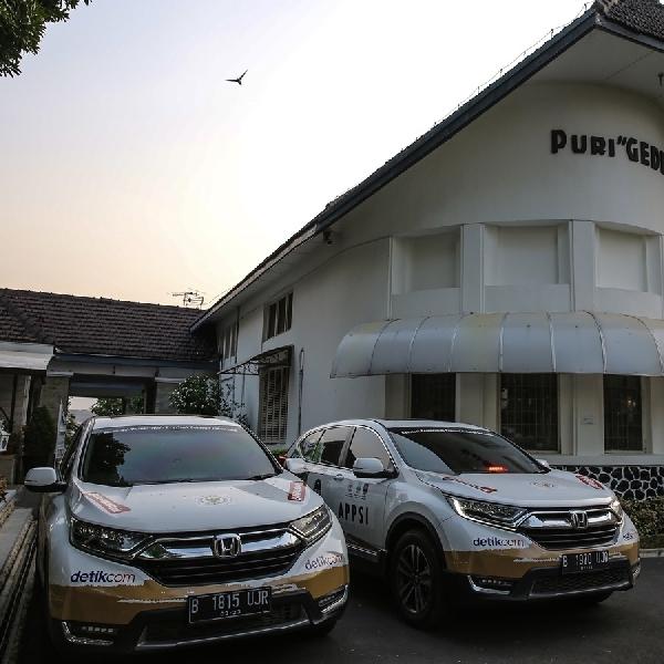 Rombongan Honda CR-V Turbo Lanjutkan Perjalanan Lintasi Kalimantan