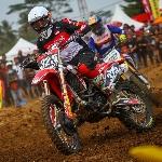 Raihan Adel di Kejurnas Motocross Nasional 2019