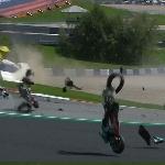 MotoGP: Insiden Menegangkan MotoGP Austria 2020 Morbidelli dan Zarco Kecelakaan, Rossi Nyaris!