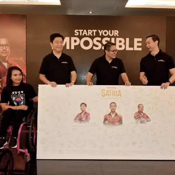 Toyota Cari Atlit Paralimpic Wakili Indonesia