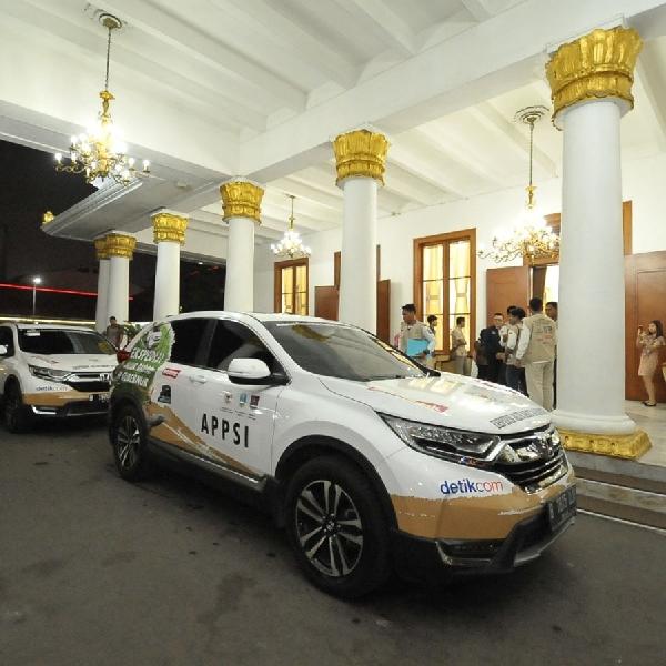 Tiba di Surabaya, CR-V Turbo Selesaikan Jelajah Nusantara 34 Provinsi