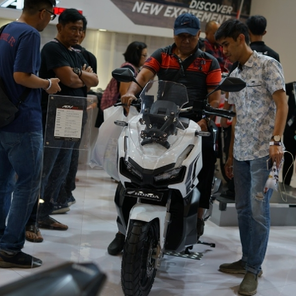 Tiga Motor Ini Paling Laris di Booth AHM Selama GIIAS 2019