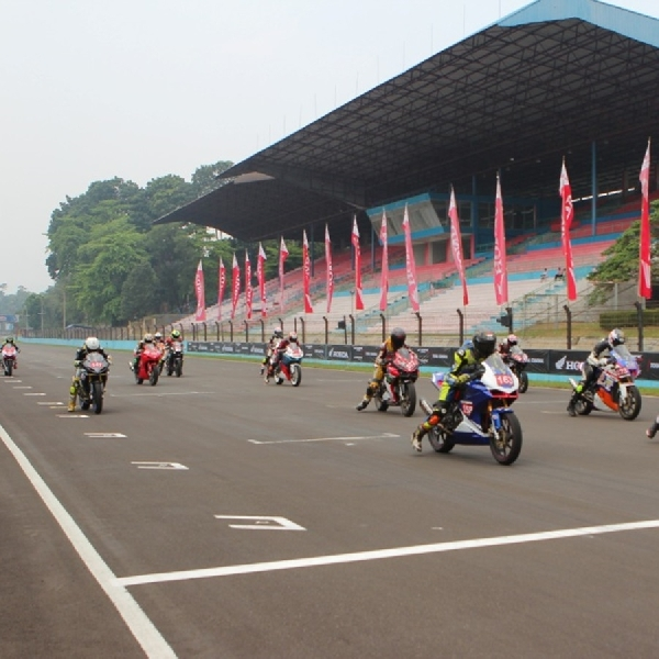 200 Peserta Ramaikan Indonesia CBR Race Day 2019