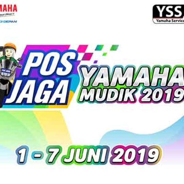 Yamaha Sediakan 4 Pos Jaga dan 46 Bengkel Jaga Untuk Pemudik
