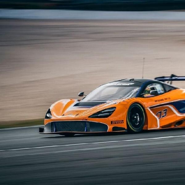 McLaren 720S GT3 Lakukan Debut Publik di Bahrain GT Festival