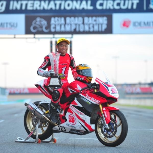 Rheza Danica Raih Juara di ARRC