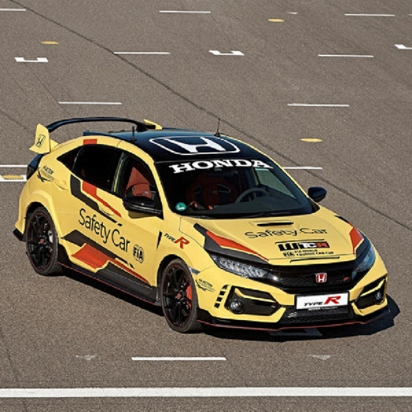 Honda Civic Type R Limited Edition Terpilih Menjadi Official Safety Car