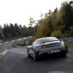 Mercedes AMG GT Black Series 4L Biturbo Rekam Speed 315 Kpj di AutoBahn