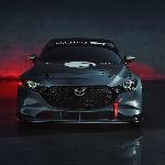 Mazda Stop Project Model 3 TCR Sebelum Diterjunkan di Track Balap