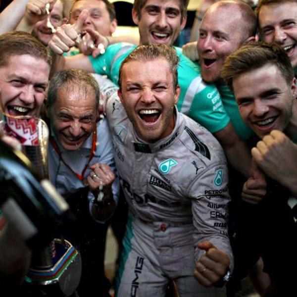 F1: Nico Rosberg, Pebalap Pertama yang merajai GP Azerbaijan