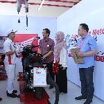 AHM Uji Keterampilan Teknisi Honda