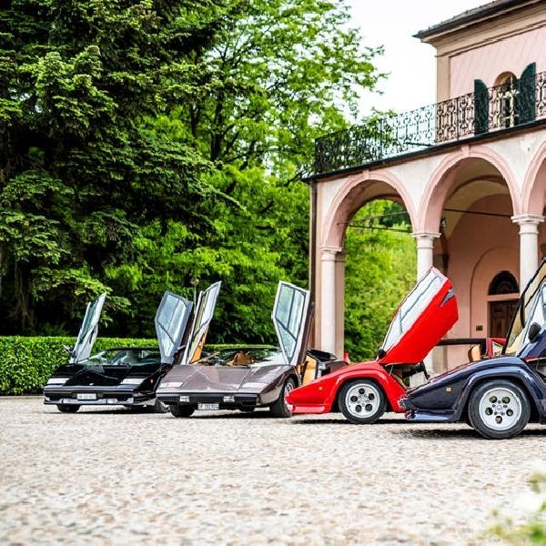 Lamborghini Rayakan 50 Tahun Lahirnya Countach