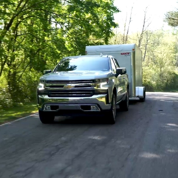 Chevrolet Silverado Tawarkan Sistem Peringatan Pencurian Trailer