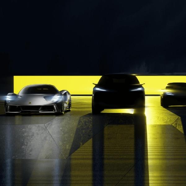Lotus Tampilkan Teaser Empat Model Baru Mendatang