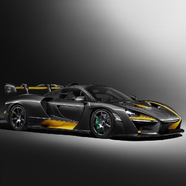 McLaren Senna Tampil Dengan Tema Visual Carbon Fiber