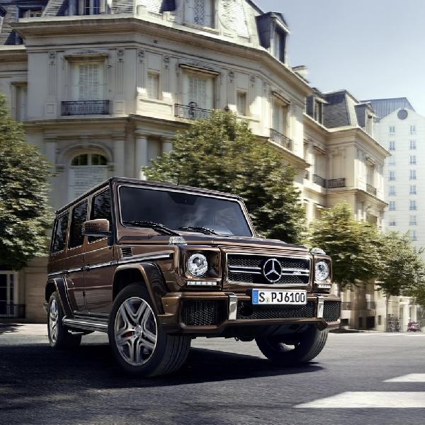 G-Class terbaru fokus pada interior dan mesin