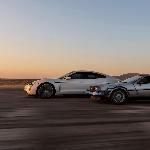 1,21 Gigawatt Porsche Taycan Mengalahkan Mesin Waktu Back To The Future