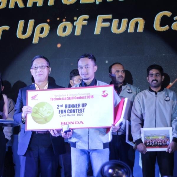 Teknisi AHASS Juarai Kontes Teknik se-Asia Oceania