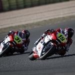 Andi Gilang Sukses Taklukkan Balapan CEV Moto2 European Championship
