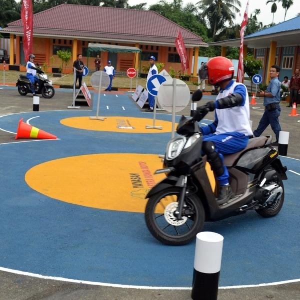 Yayasan AHM Resmikan Safety Riding Lab di Sumatera Utara