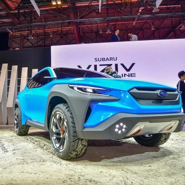 Subaru Tampilkan Viziv di Swiss