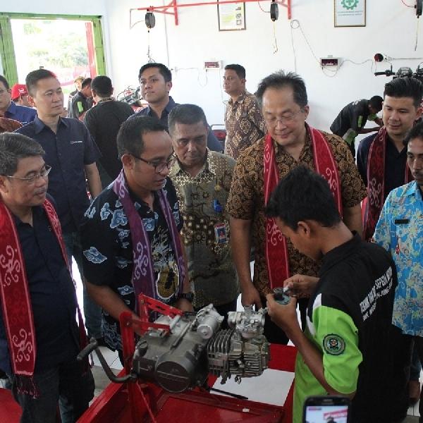 Pendidikan Vokasi Astra Honda Kini Hadir di Semua Provinsi Indonesia