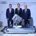 Audi Memulai Produksi Motor Listrik Untuk e-tron Quattro
