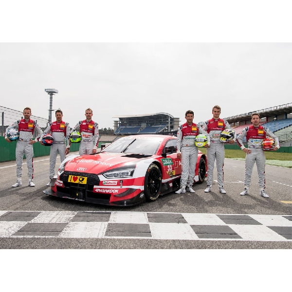Audi Pertahankan Line-Up Tim DTM