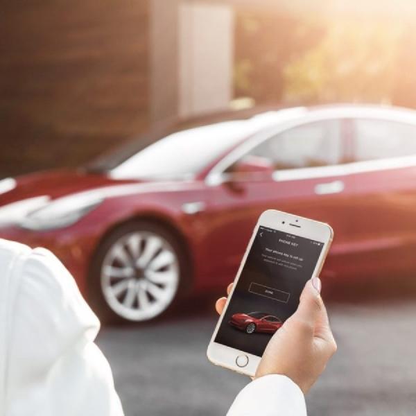 Tesla Model S dan X akan Memiliki Fitur Keyless dalam Smartphone