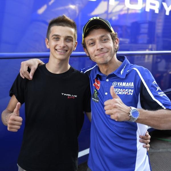 MotoGP: Adik Rossi Dikontrak Forward