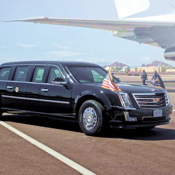 Ini Dia Mobil Kepresidenan Amerika Serikat yang Menawan