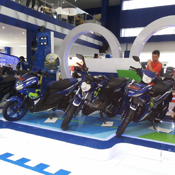 Yamaha Aerox 125LC Livery Movistar MotoGP Meluncur