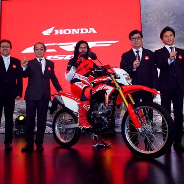 AHM Resmi Luncurkan Honda CRF150L