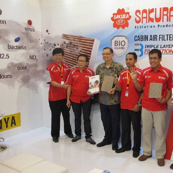 Sakura Bio-Guard Cabin Air filter, filter khusus Indonesia