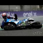 Terjatuh Dua Kali di Le Mans, Rins Tercecer di Posisi 12 Klasemen