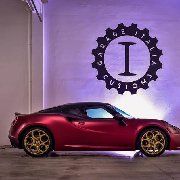 Alfa Romeo 4C La Furiosa Hasil Karya Garage Italia Customs