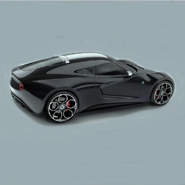 Super Sport Alfa Romeo 6C Dibayang-bayangi Jaguar Land Rover Alias Modeler
