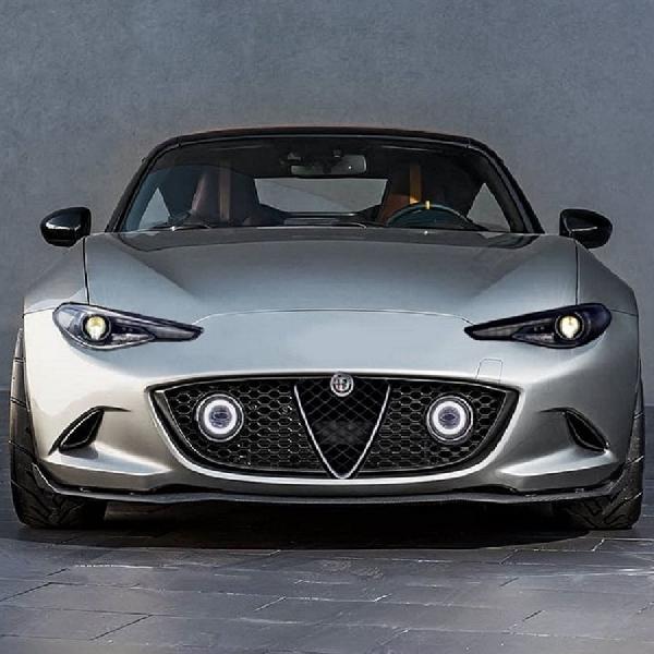 Hakikat Alfa Romeo MX-5 Spyder dan Mazda Roadster: Sejenis Beda Jiwa