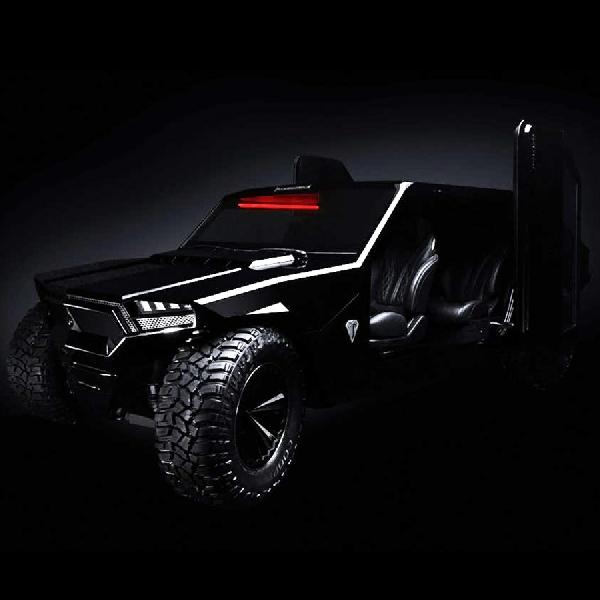 Protos RM-X2 God Edition, Mobil Taktis Bermesin Hypercar