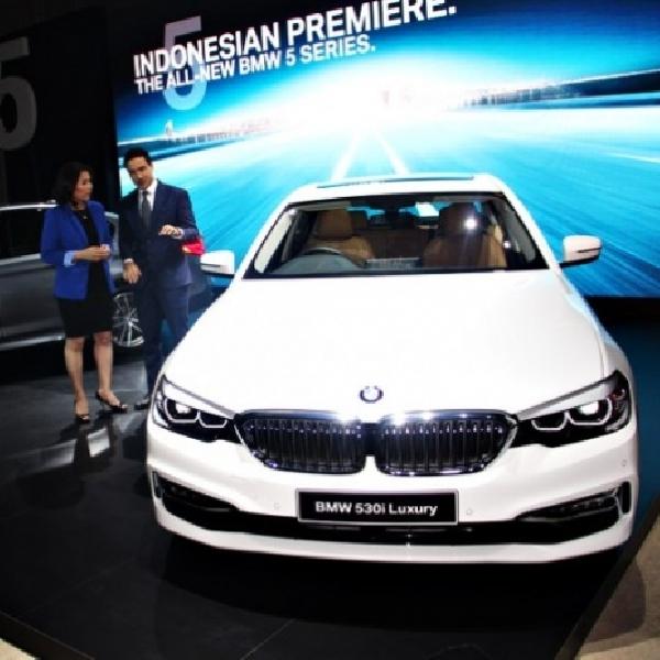 Buah Keberhasilan dari All New BMW Seri 5