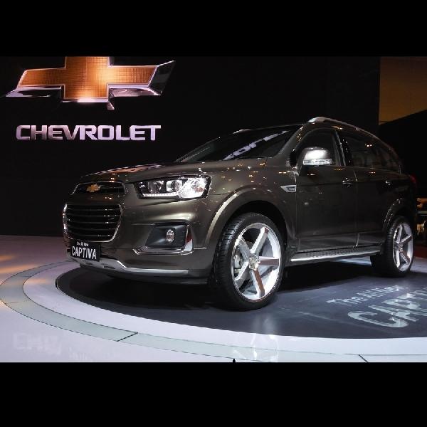 All New Chevrolet Captiva Resmi Diluncurkan dengan Harga Rp 425 Juta