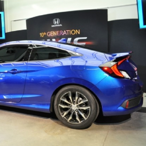 All New Honda Civic Mendebut di Los Angeles Auto Show 2016
