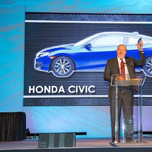 All New Honda Civic Raih Penghargaan Mobil Terbaik 2016