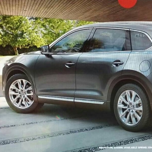 All New Mazda CX-9 Siap Mendebut