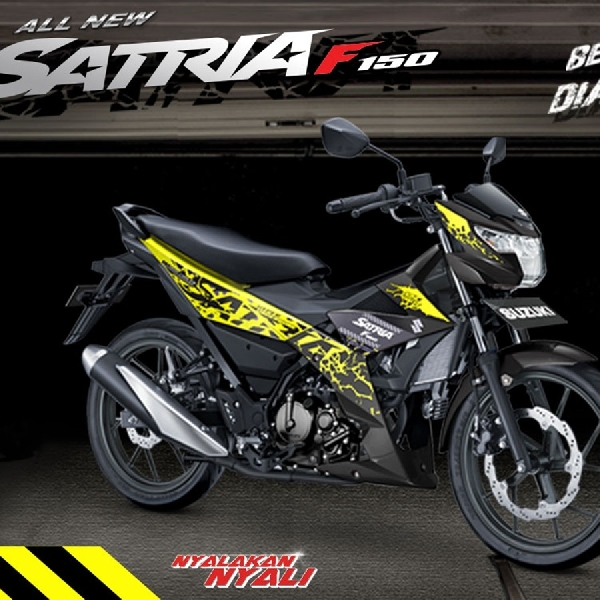 PT SIS Rilis All New Satria F150 dengan Ragam Warna